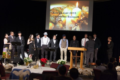 Willingdon Church Entry Level Christmas Banquet 2015